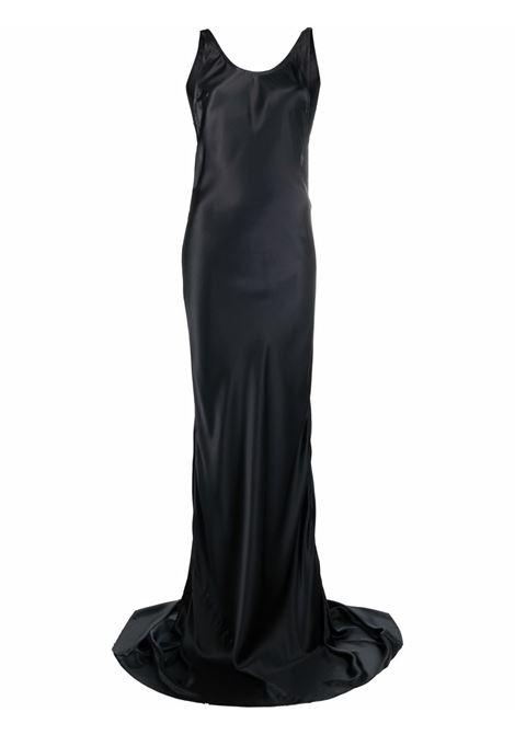 Abito da sera con schiena scoperta in nero - donna ANN DEMEULEMEESTER   2102WDR04145099