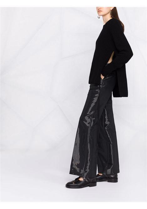 Maglione a coste in nero -donna ANN DEMEULEMEESTER | 2102WKN22254099