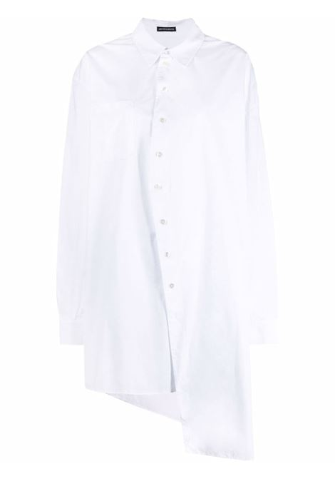 Camicia asimmetrica in bianco - donna ANN DEMEULEMEESTER | 2102WSH26125001