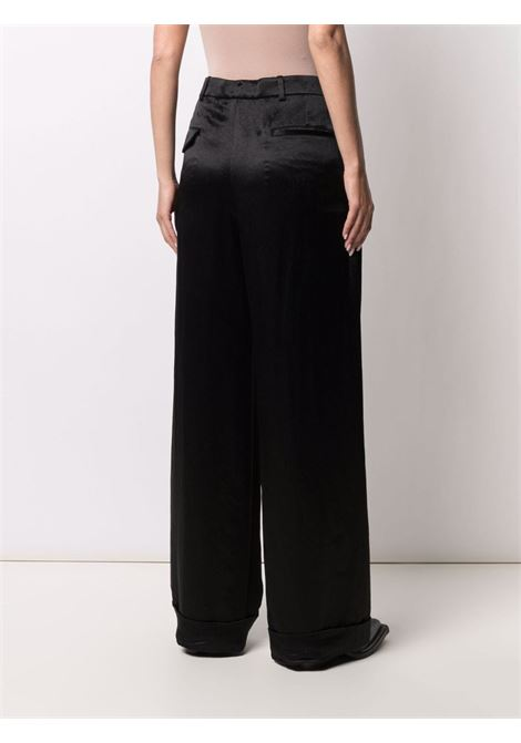 Pantaloni a gamba ampia in nero - donna ANN DEMEULEMEESTER | 2102WTR12166099