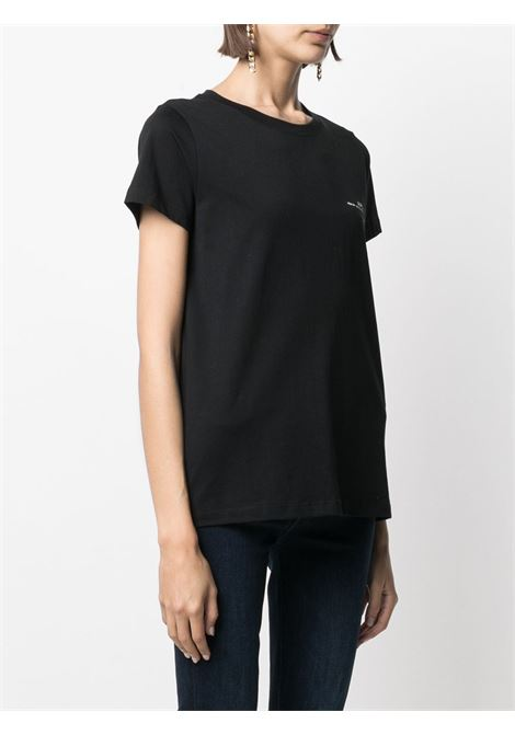 T-shirt con stampa in nero - donna A.P.C.   COEOPF26012LZZ