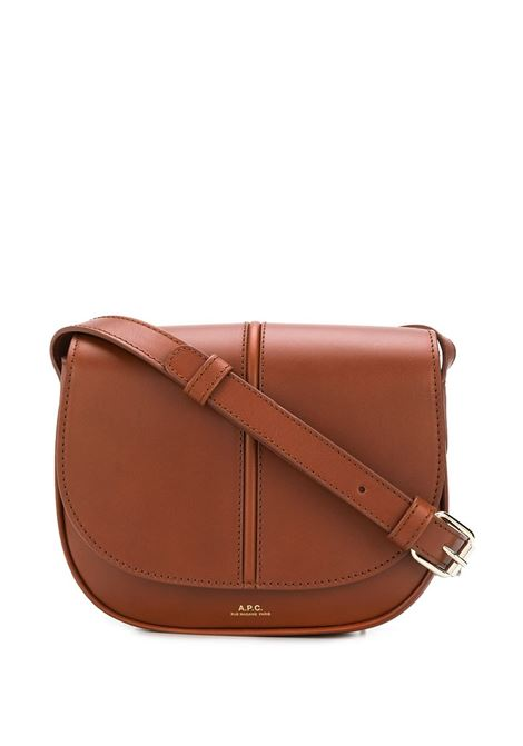 Borsa a spalla marrone - donna A.P.C. | PXAWVF61179CAD