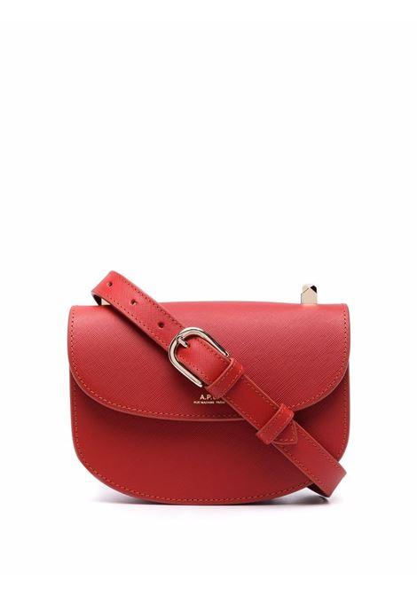 Borsa geneve in rosso- donna A.P.C. | PXBJQF61415GAN
