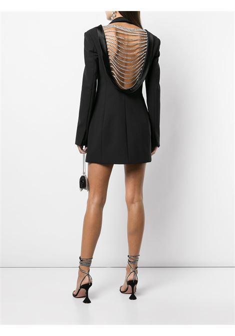 Abito modello blazer in nero - donna AREA | 2103D11032BLK