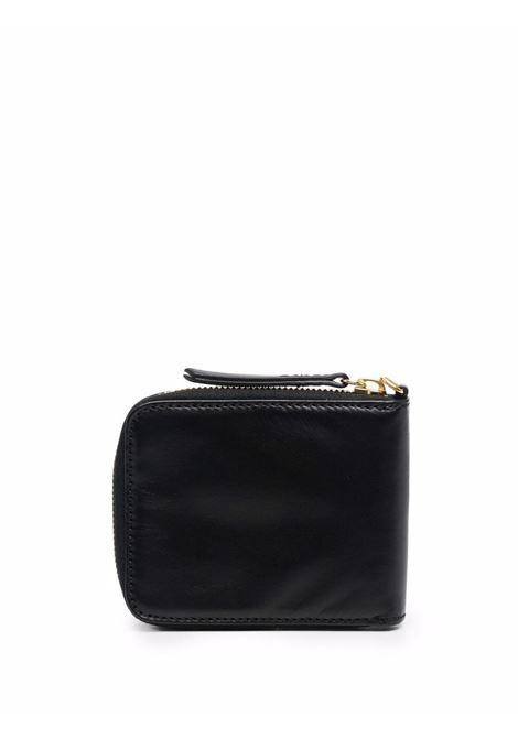 Zip wallet black- unisex ARIES | FSAR10011BLK