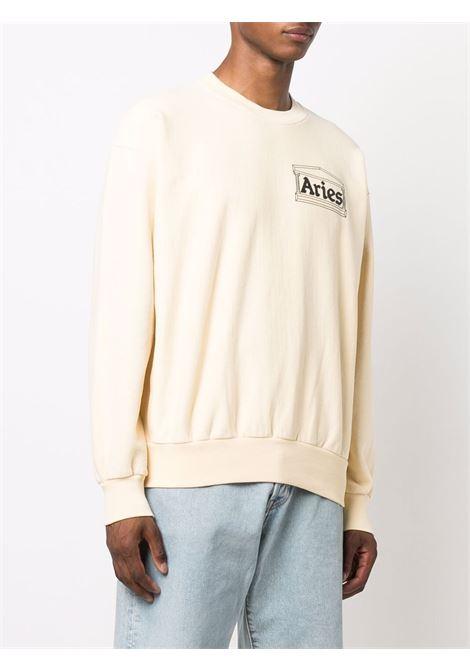 Off-white chest-logo crewneck sweatshirt - unisex ARIES | FSAR20000ALB