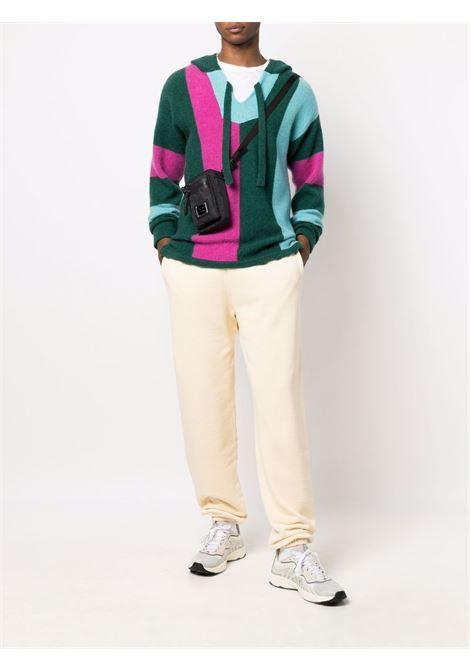 Yellow Premium Temple track trousers - unisex ARIES | FSAR30000ALB