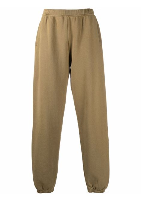 Olive green Premium Temple track trousers - unisex ARIES | FSAR30000OLV