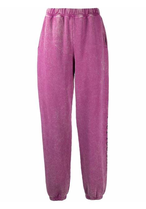 Violet No Problema track trousers - unisex ARIES | FSAR30002ASR