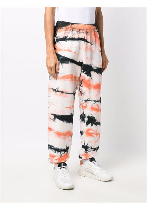 Multicolored tie-dye track trousers - unisex ARIES | FSAR30222MLT