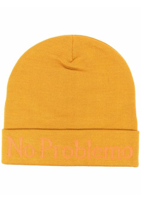 No Problemo knitted beanie in oliveyellow -  men ARIES | FSAR91000OLV