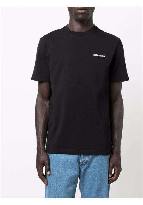 T-shirt a girocollo con logo in nero - uomo AXEL ARIGATO | 15426BLK