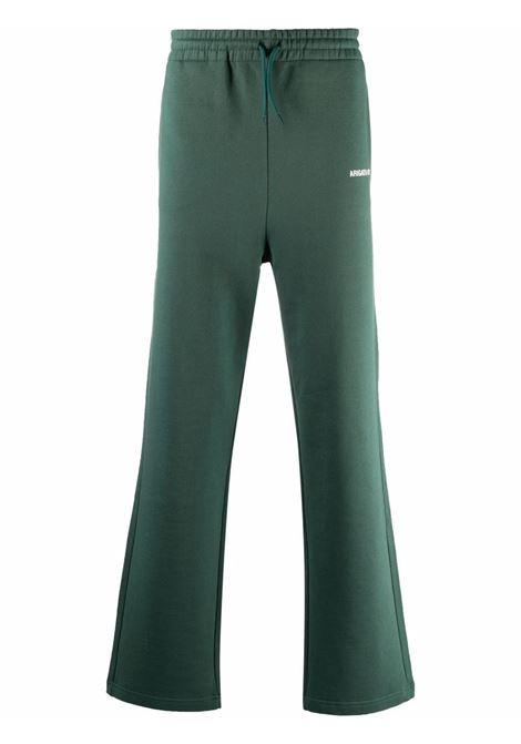 Pantaloni con coulisse in verde - uomo AXEL ARIGATO   15813GRN