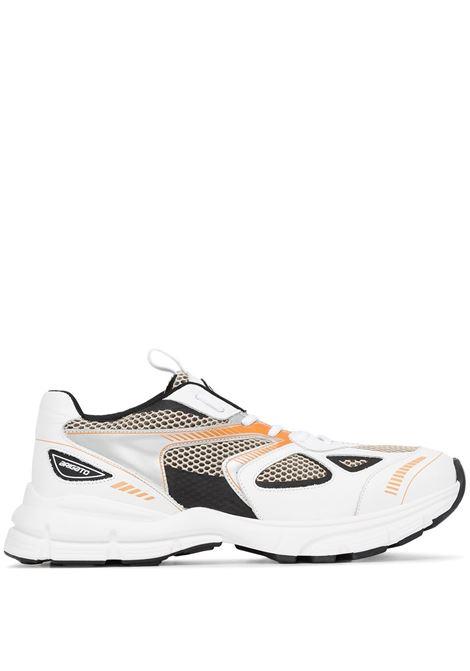 Sneakers marathon con pannelli metallizzati - uomo AXEL ARIGATO | 33013WHTBLKORNG