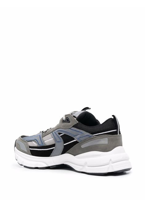 Marathon Runner low-top sneakers in grey, black and white - men AXEL ARIGATO | 33055DRKGRY