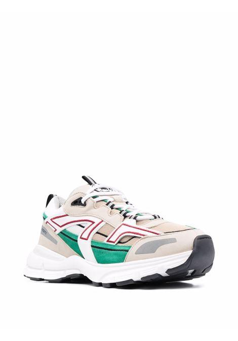 Sneakers marathon r-trail in crema e verde - uomo AXEL ARIGATO | 33077CRMNGRN