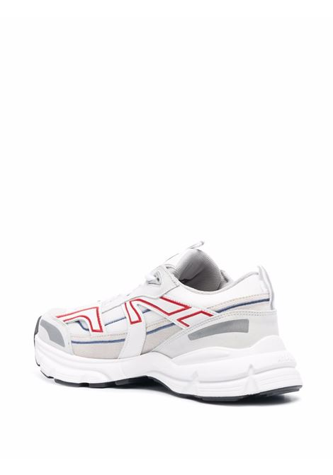 Marathon low-top sneakers in white, red and grey - men  AXEL ARIGATO | 33094WHTRD