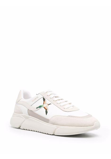 Sneakers con pannelli a contrasto in bianco e beige - uomo AXEL ARIGATO   35076WHTBG