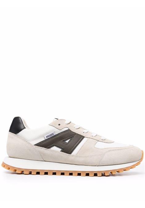 Aeon Runner low-top sneakers in beige and green - men  AXEL ARIGATO | 39004BGGRN
