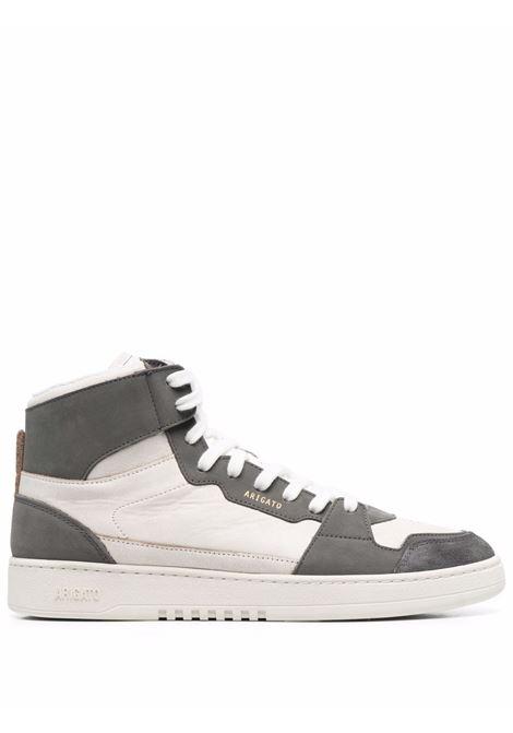 Sneakers alte con design color-block in bianco e grigio - uomo AXEL ARIGATO   41013WHTGRY