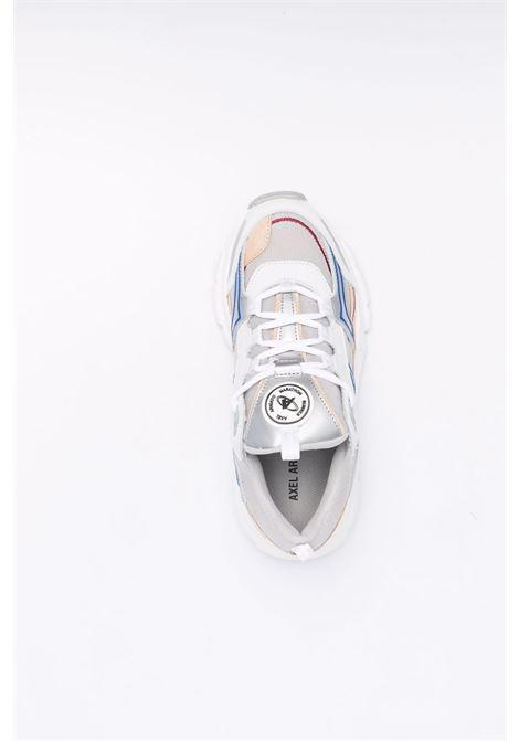 Marathon runner low-top sneakers in grey, blue and cream - women AXEL ARIGATO   93072GRYBLCRMN