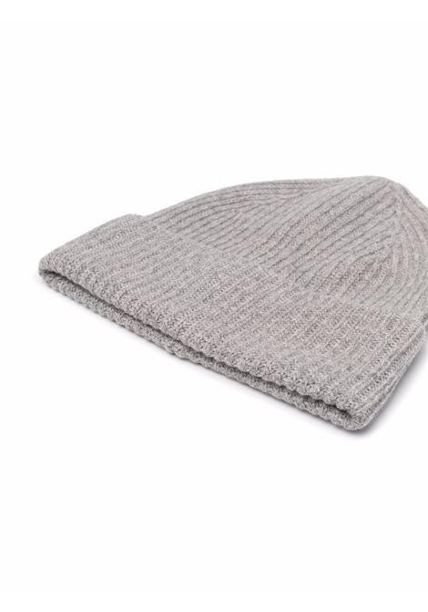 Cappello beanie a coste in grigio - uomo BALLANTYNE | T2N0075K01515123