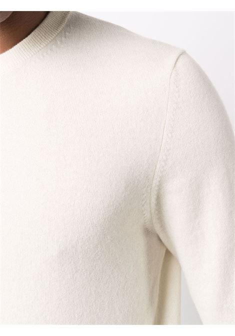 Maglione in maglia fine in bianco - uomo BALLANTYNE | T2P00012K0010011