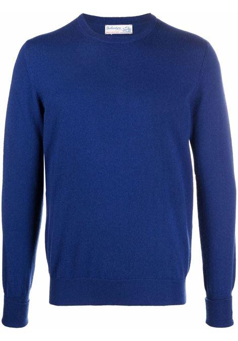 Maglione in maglia fine in blu - uomo BALLANTYNE | T2P00012K0013690