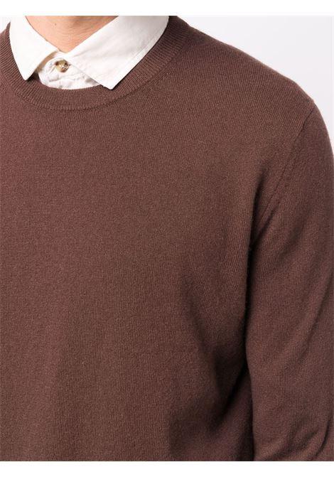 Maglione in maglia fine in marrone - uomo BALLANTYNE | T2P00012K0014885