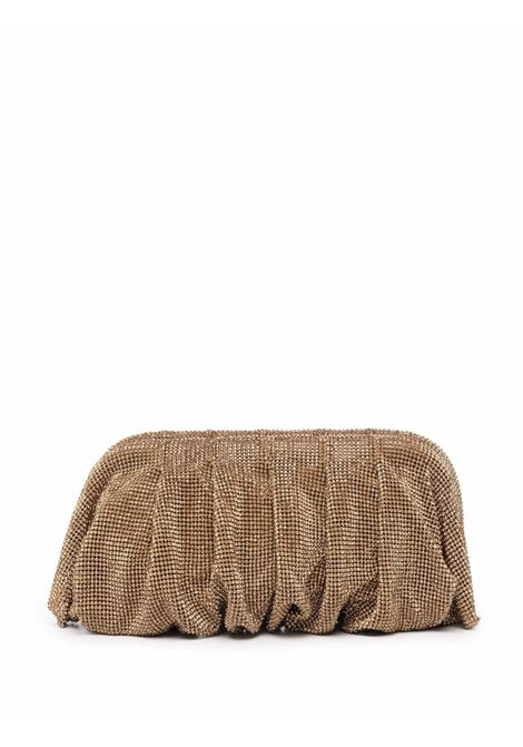 Gold-tone crystal-embellished clutch bag - women  BENEDETTA BRUZZICHES | 4861MSS