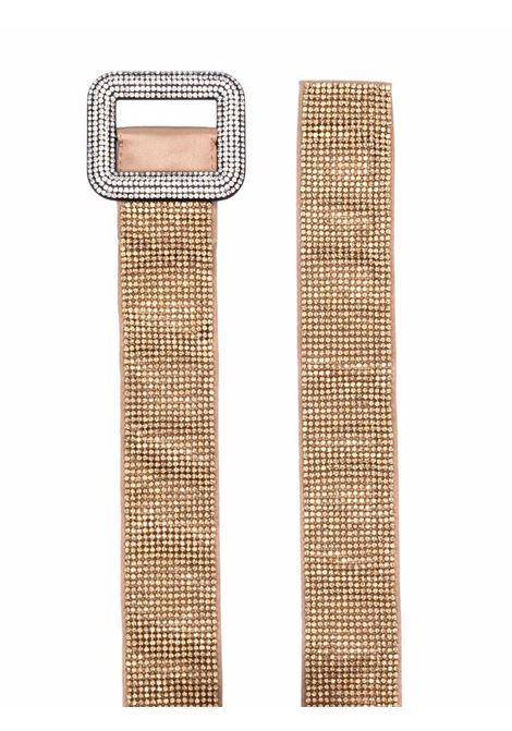 Gold-tone rhinestone-embellished belt - women  BENEDETTA BRUZZICHES | 4867MSS