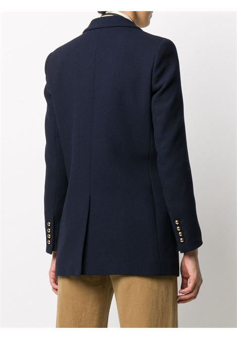 Resolute double-breasted blazer in navy blue - women  BLAZÉ MILANO | EBD05ESSE007NV