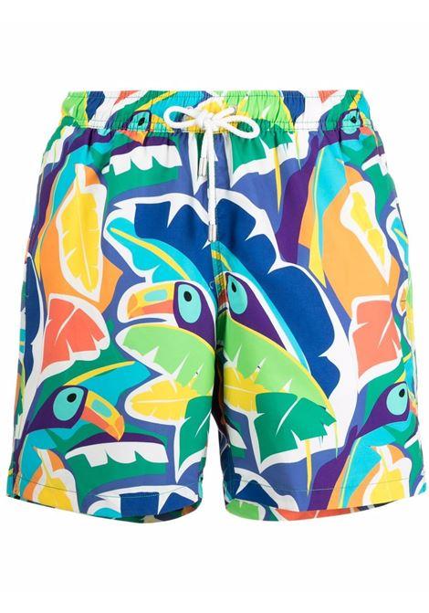 Costume da bagno con stampa tucani in multicolore - uomo BLUEMINT | ARTHUSTCN