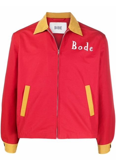 Giacca camicia rosso- unisex BODE | MR23JA07N001621