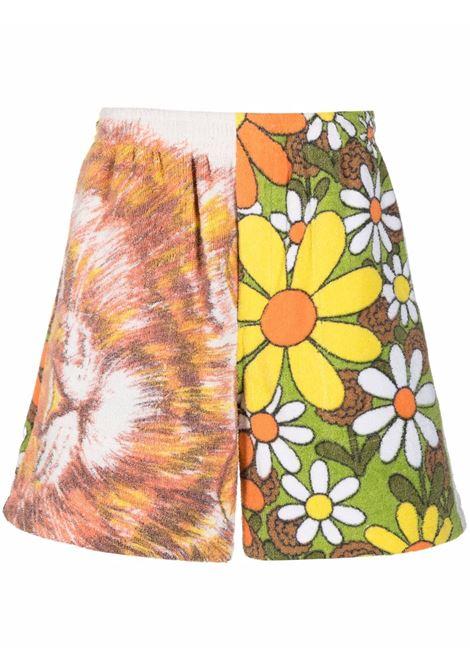 Bermuda a fiori multicolore- uomo BODE | MR23PA08CTY001977