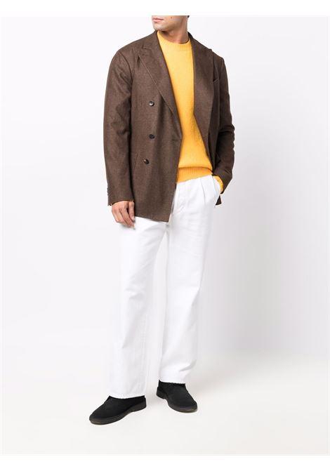 Giacca doppiopetto in marrone - uomo BOGLIOLI | N4302JBUC4150475