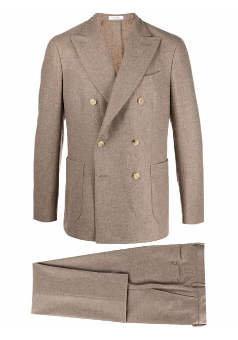 Suit with front buttons beige- men BOGLIOLI | N4382EBUC1030391
