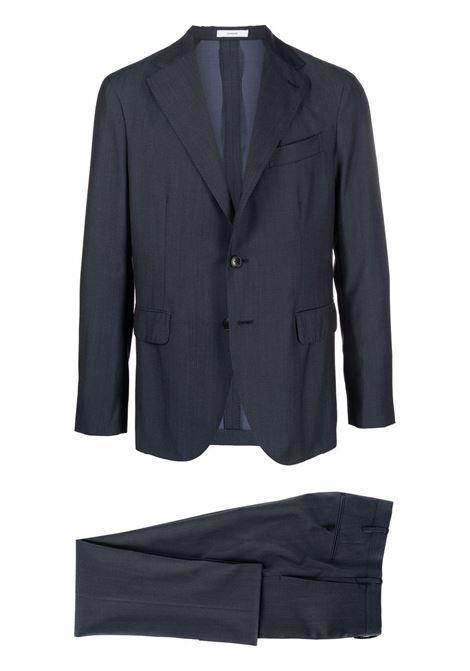 Slim suit navy blue- men BOGLIOLI | X22C2EBRC1240870