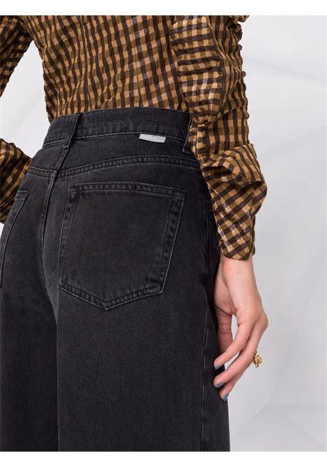 Jeans dritti Ziggy a vita alta in nero - donna BOYISH | 114107SPCODSSY