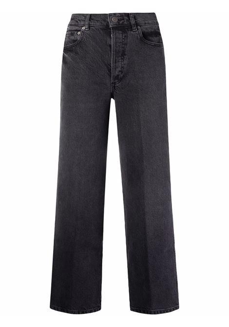 Jeans dritti in nero - donna BOYISH | 202152MNSTRCK