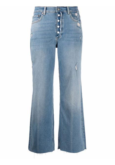 Jeans dritti crop in blu - donna BOYISH | 202178AWYWG