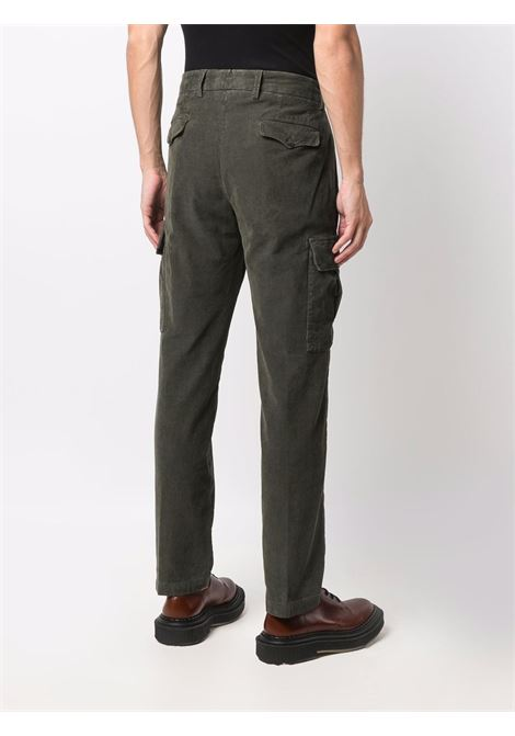 Pantaloni cargo dritti in velluto a coste verde oliva - uomo BRIGLIA 1949   BG6442178500772