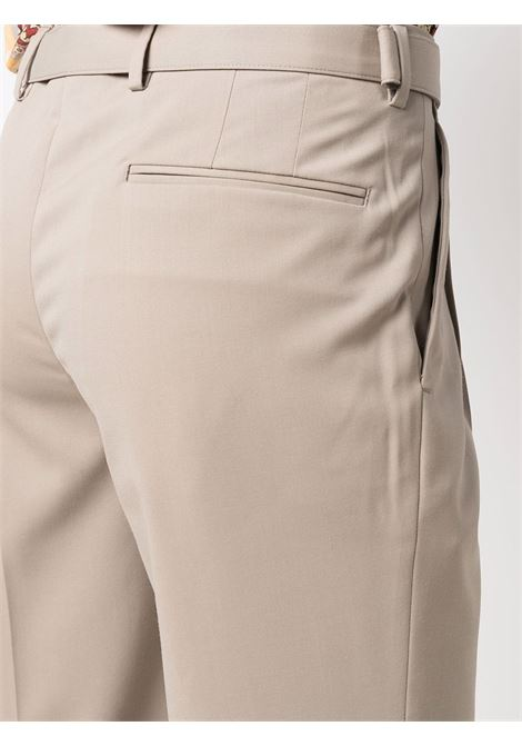 Pantaloni sartoriali con cintura in beige - uomo BRIGLIA 1949   BRERAS42110000103