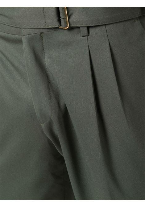 Pantaloni sartoriali con cintura in verde - uomo BRIGLIA 1949   BRERAS42110000162
