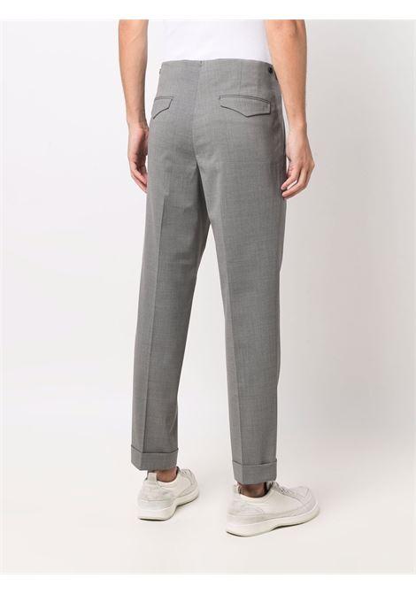 Straight-leg trousers in grey - men  BRIGLIA 1949 | CHELSEAS42110000060