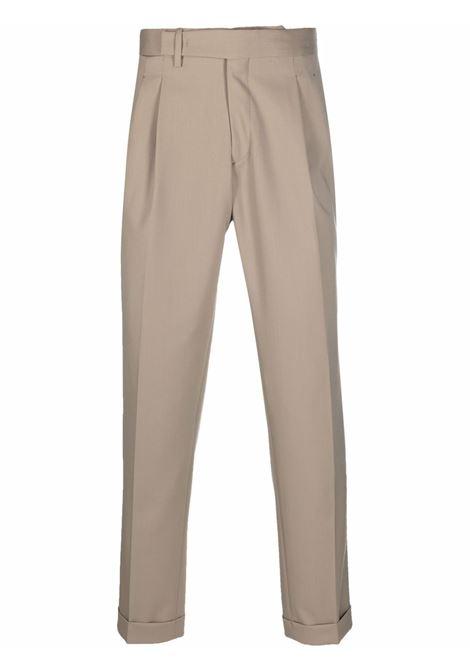 Pantaloni sartoriali con cintura in beige - uomo BRIGLIA 1949   QUARTIERIS42110000103