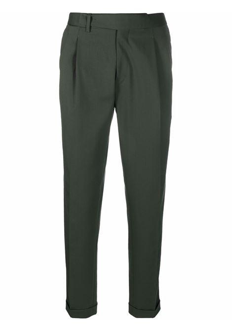 Pantaloni sartoriali con cintura in verde - uomo BRIGLIA 1949   QUARTIERIS42110000162