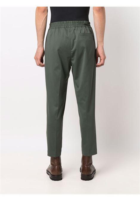 Elasticated-waist trousers in green - men  BRIGLIA 1949 | SAVOYS42110000162