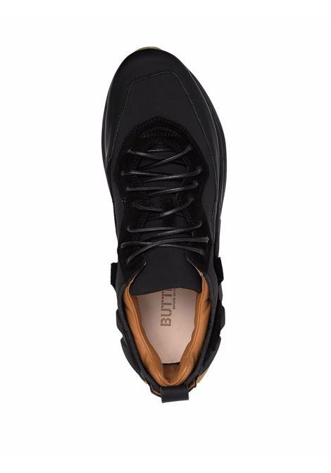 Black Spazio low-top sneakers - men  BUTTERO | B9540VARC01