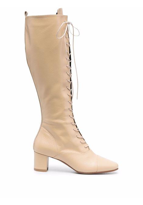 Stivali al ginocchio Lada in beige - donna BY FAR | 21FWLDSDGGSD